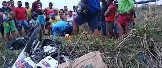 MOTOCICLISTA MORREU EM ACIDENTE NA CIDADE DE CRATEÚS