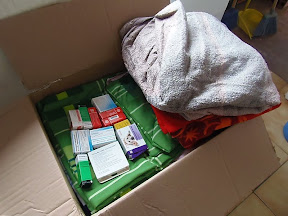 Goods Donation - Thank you Michaela and SB!