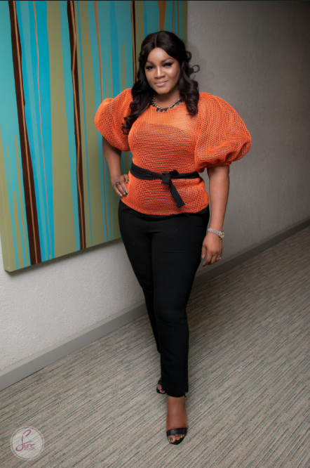 Omotola Jalade-Ekeinde Wows In Jaw-dropping Gown At 54th Birthday Of Sierra Leone's President