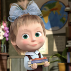 Masha and the Bear: Word Game for Kids