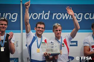 2012-La saison de l'équipe de France d'aviron.