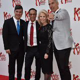 OIC - ENTSIMAGES.COM - Stephen Oremus, Daryl Roth and Jerry Mitchell at the  Kinky Boots - press night in London 15th September 2015  Photo Mobis Photos/OIC 0203 174 1069