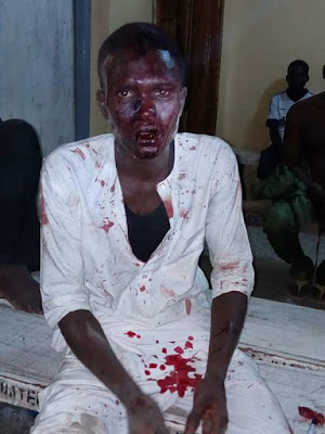 Phone Snatcher Caught & Beaten To Pulp In Kano (Photos)
