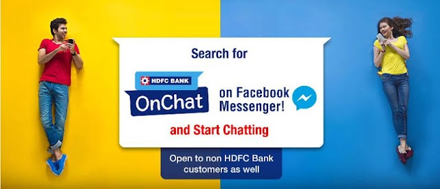 HDFC OnChat - Get Flat Rs. 50 Discount On Jio Recharge of Rs. 300 or More