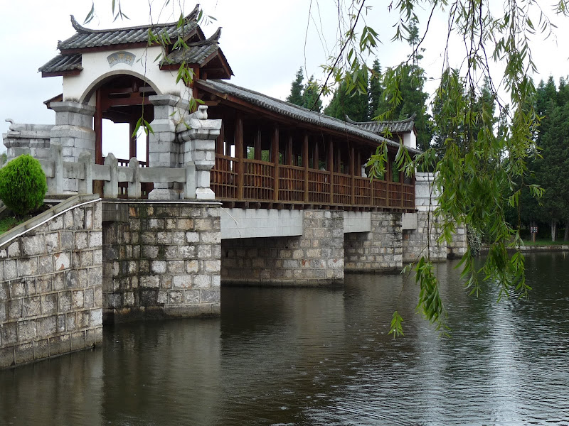 CHINE.YUNNAN.KUN MING Village des minorités 2 - P1270584.JPG