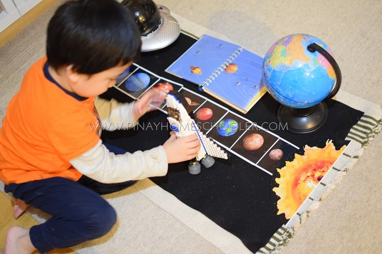 Arranging the Planets in the Solar System Activity