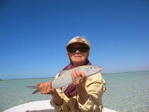 Photo: Sandy Heinz- a great bonefisher!