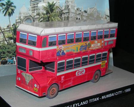 Ashok Leyland Titan Papercraft