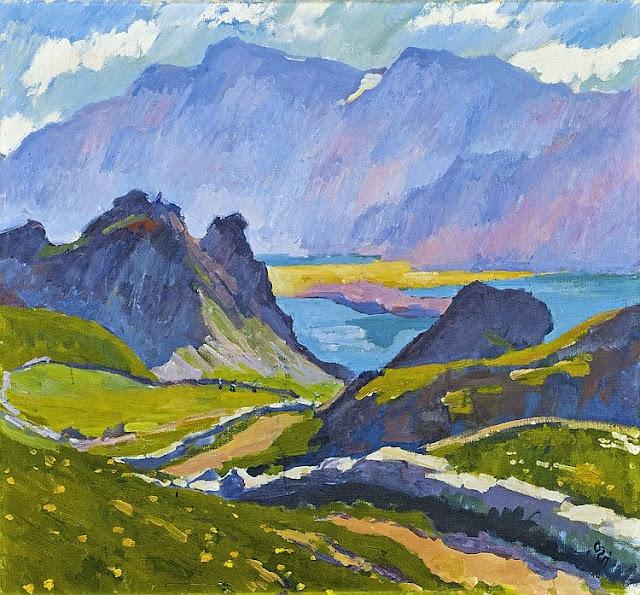 Giovanni Giacometti - Grevasalvas, 1927