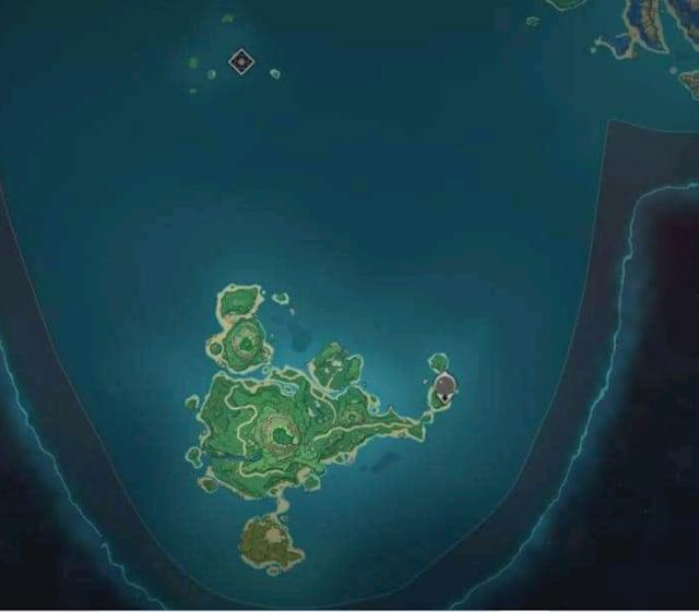 Location of Tsurumi Island