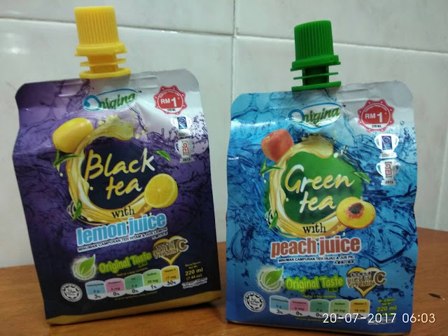 Origina Black Tea & Green Tea