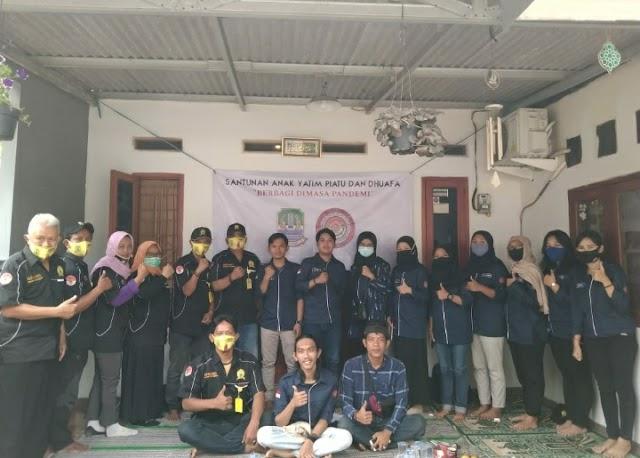 Maulid Nabi Muhammad SAW, Karang Taruna RW 005 Kelurahan Arenjaya Bekasi Timur Gelar Santuan Anak Yatim