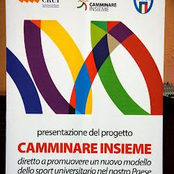 Presentazione Progetto CAMMINARE INSIEME 26-01-2015