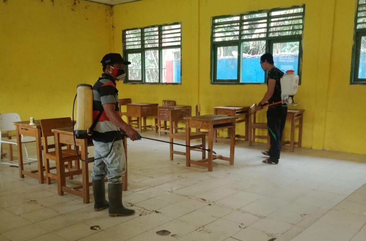 Siswa SMPN 27 Batanghari Positif Covid, Diduga Terpapar dari Keluarga