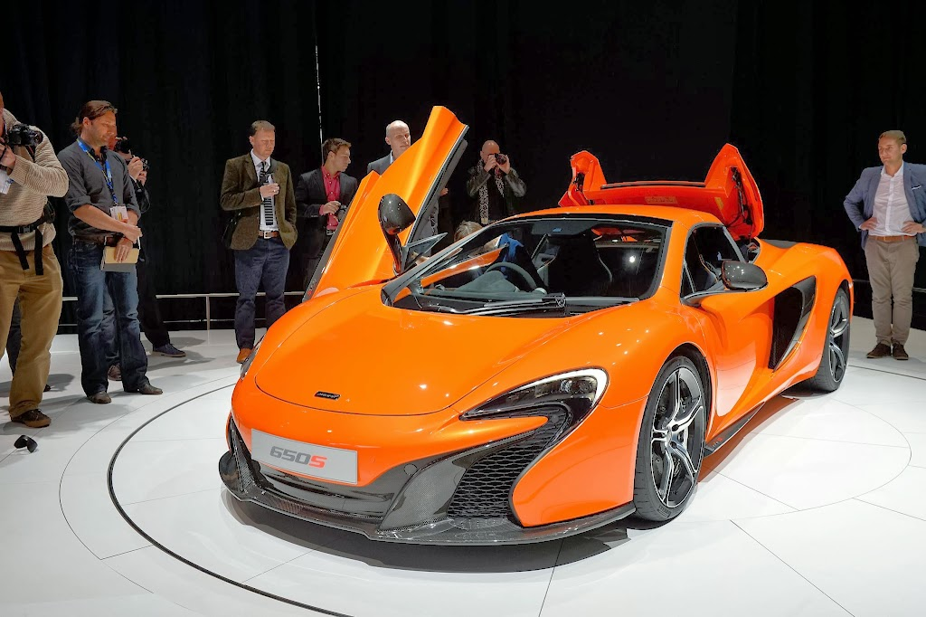 McLaren 650S Spider Geneva Motor Show 20