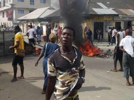Trouble as task force officer beheads bureau de change trader in public