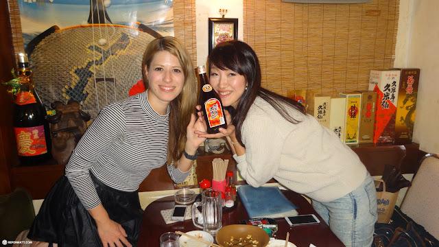 drinking time with my friend Heather & Akiko in Ikebukuro, Tokyo, Japan