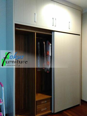 wardrobe lemari pakaian nusa loka bsd