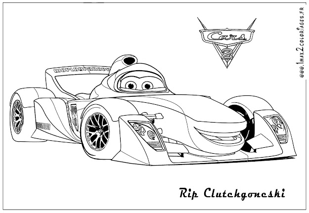 Free Coloring Pages Disney Cars