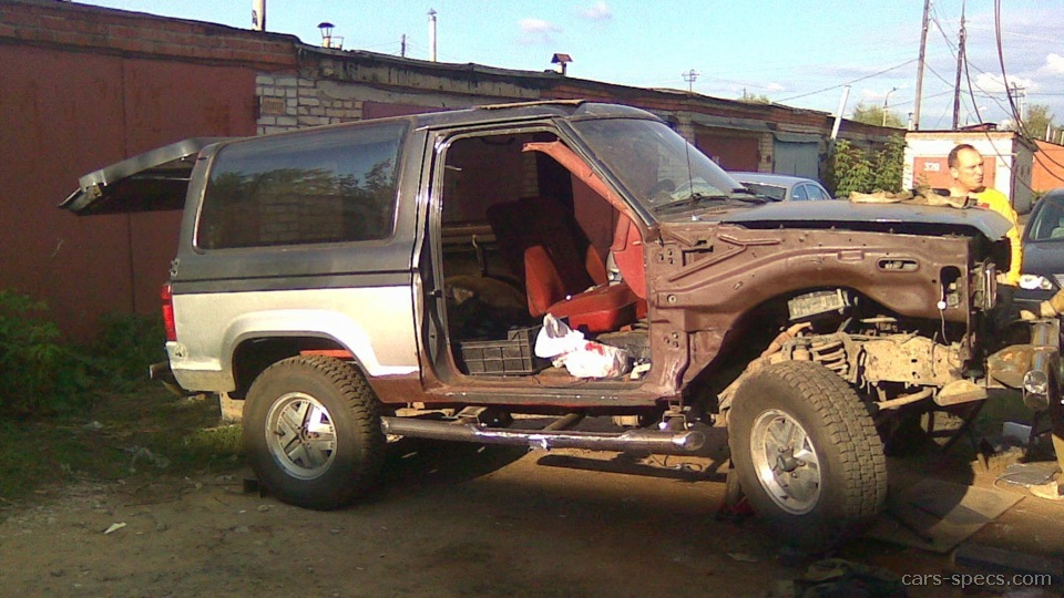 ford bronco ii suv specifications pictures prices