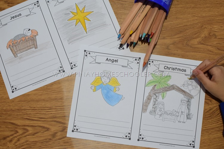 Christmas Nativity Coloring Sheets