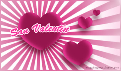 Tarjeta de San Valentín.