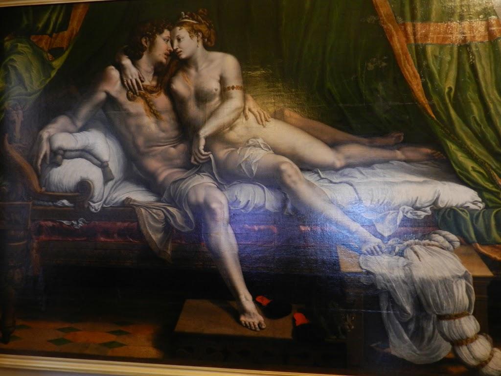 16th art century erotic happens