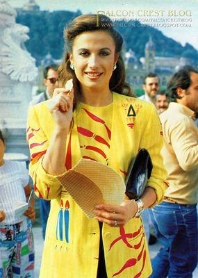 Ana-Alicia 19.01b Film Festival San Sebastian 1986 ©mb