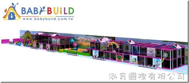 BabyBuild 大型室內3D泡管兒童遊具