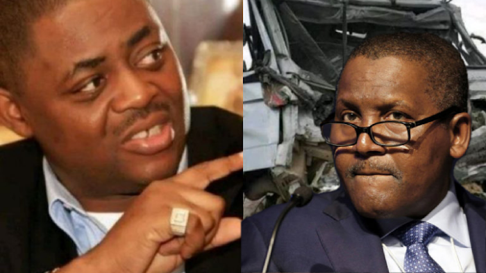 """""""Your truck kills Nigerians more than Aids itself"""" - Femi Kayode challenges Dangote"""