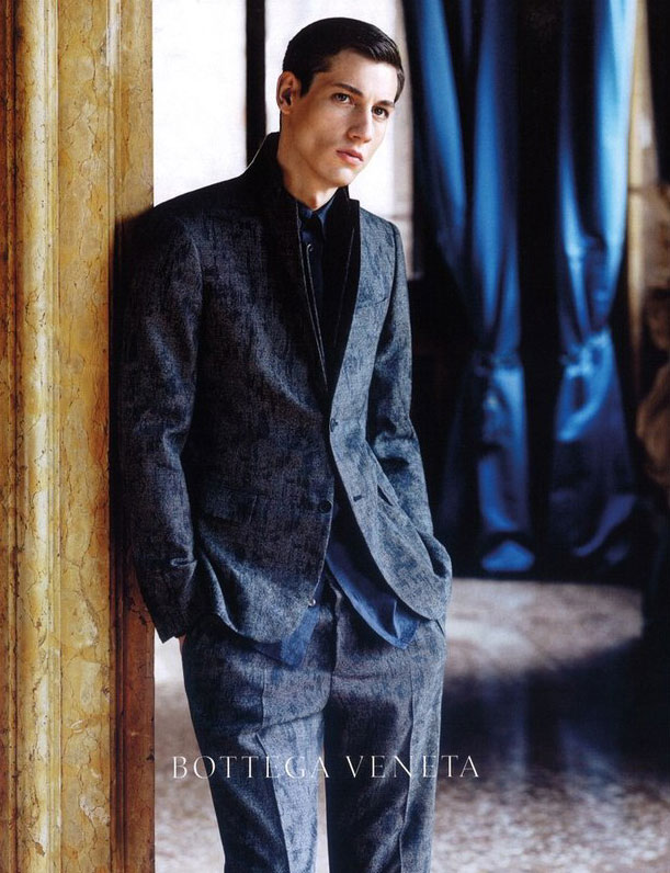 Nicolas Ripoll by Robert Polidori for Bottega Veneta F/W 2011
