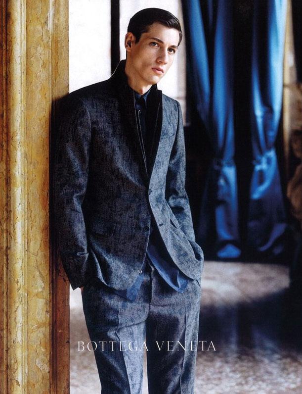 Nicolas Ripoll by Robert Polidori for Bottega Veneta F/W 2011