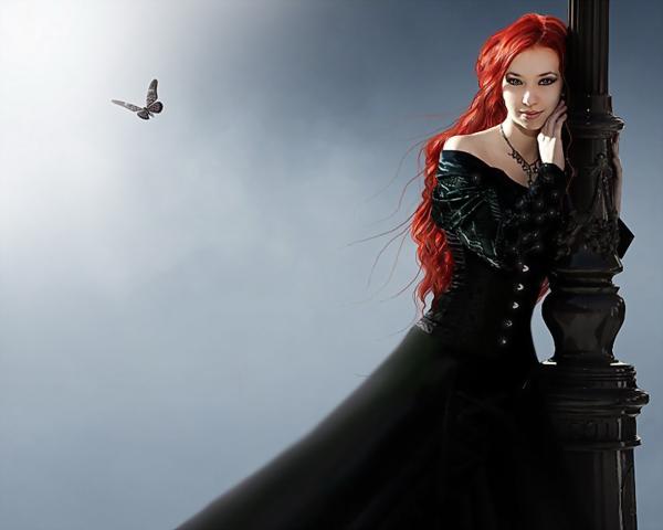 Fallen Gothic Lady, Gothic