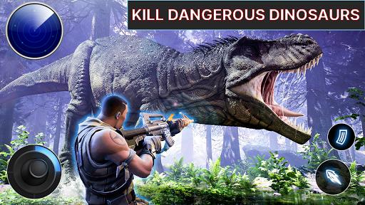 Dino Hunter - Wild Jurassic Hunting Expedition apktram screenshots 2