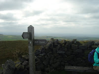 View to west from Shining Tor