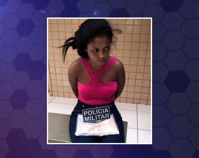 Mulher é presa com drogas no terminal rodoviário de Altamira