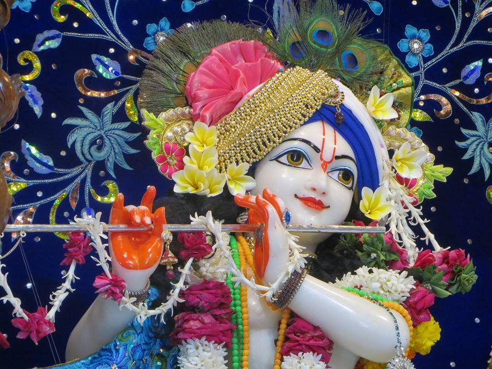 ISKCON Aravade Deity Darshan 08 Mar 2016 (2)