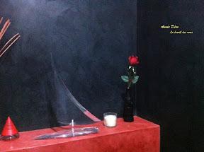 Toilettes - Stucco - Enduit a la chaux