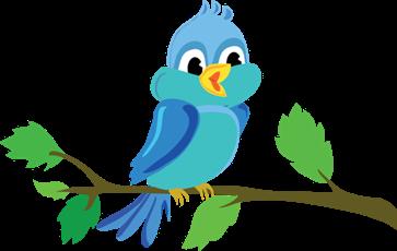 Cute-Cartoon-Bird-Chirping