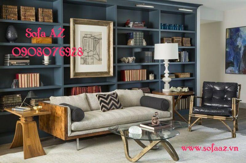 Nêm ghế salon gỗ quận 2 - May nệm ghế sofa gỗ quận 2