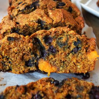 Wild Blueberry Sweet Potato Bread.