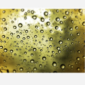 Water is the driving force of nature although just a tiny drop by Alvin Cheah - Abstract Patterns