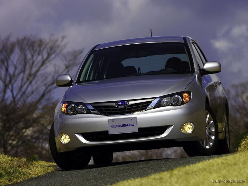 2008 Subaru Impreza Hatchback Specifications, Pictures, Prices