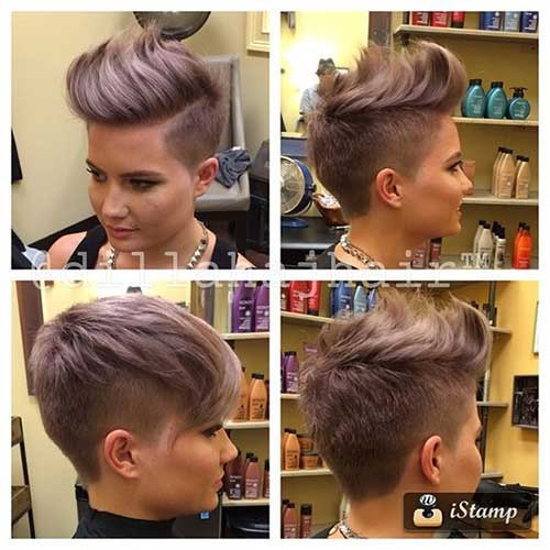 Latest Short Haircuts For Woman 2018 2