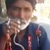 Vídeo: Homem enfia cobra no nariz e retira pela boca; web aponta maus-tratos