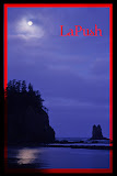 """La Push Moon Set"" by Valerie Henshel -- 2nd Place A Special"