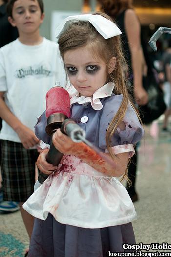 bioshock cosplay - little sister 2