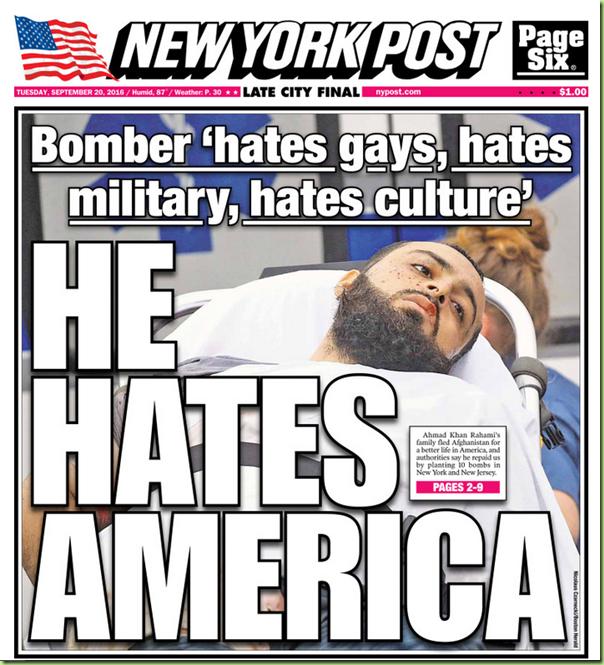 terrorist hates america