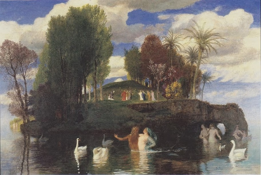 Arnold Böcklin - The island of life