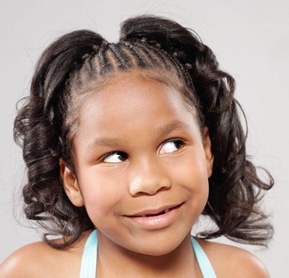 hairstyle mode new look: African American Girl Child Hairstyle Ideas